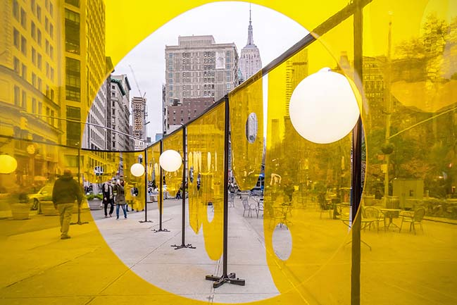Happy by Studio Cadena is the Winner of the 2018 Flatiron Public Plaze Design Competion