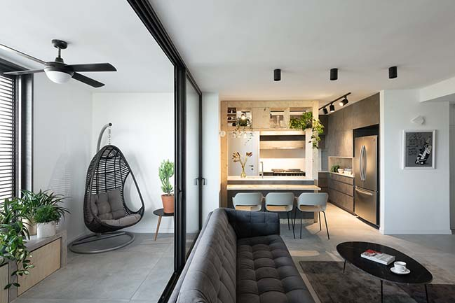 Modern urban apartment in Tel Aviv by Studio Perri
