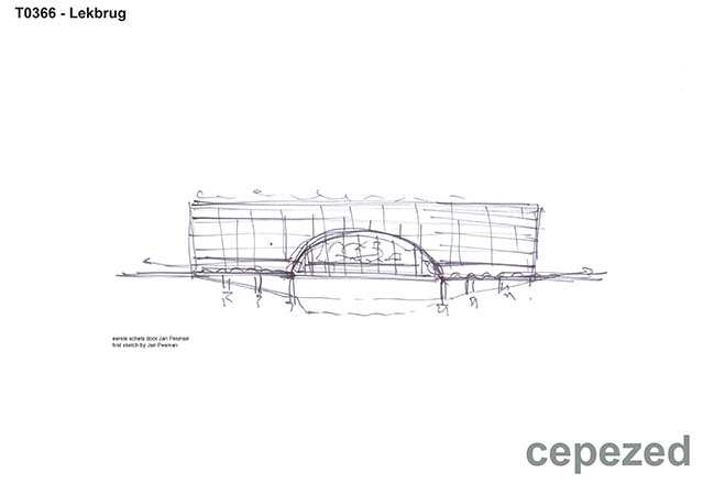 cepezed designs circular plan Lekbrug