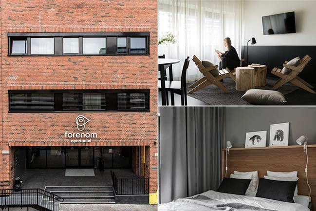 Aparthotel Lakkegata by Studio Puisto Architects