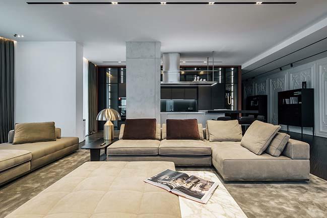 Diamond Apartment by YoDezeen