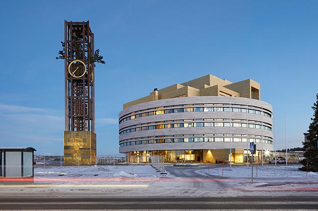 The Crystal - Kiruna Town Hall by Henning Larsen