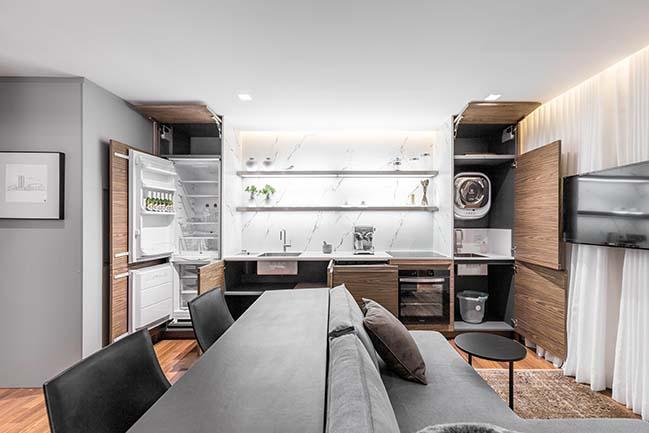 42m2 Studio Anita by AMBIDESTRO Arquitetura