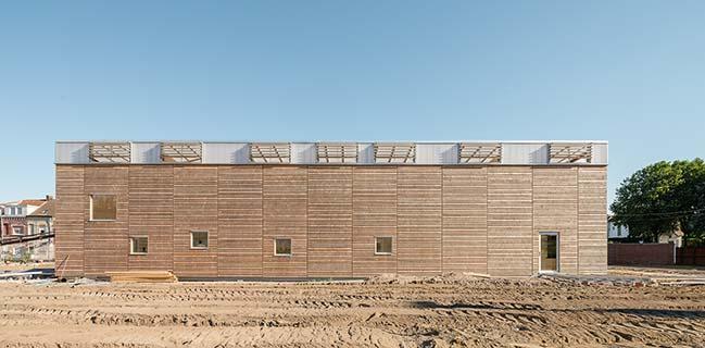 Maison Du Projet by Carlos Arroyo Arquitectos