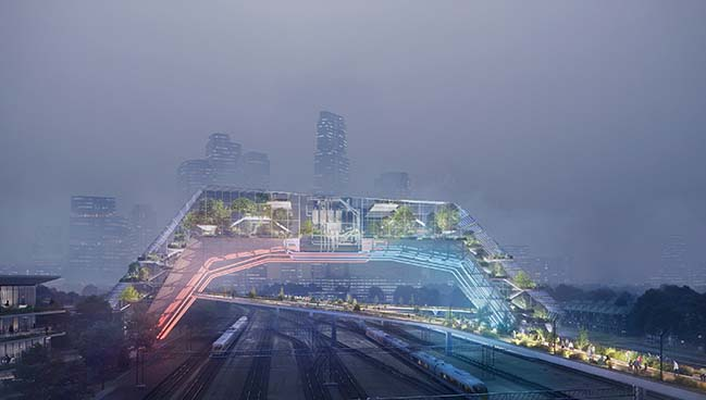 UNStudio designs Socio-Technical urban vision for The Hague