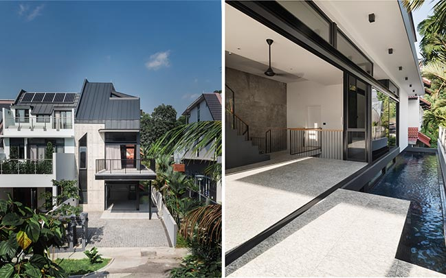 Nomad House in Singapore by AD Lab Pte Ltd