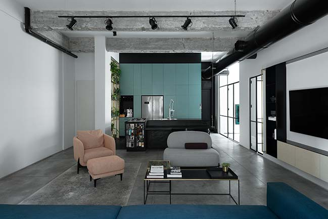 AX3 - 90m2 apartment in Tel Aviv by Studio ETN