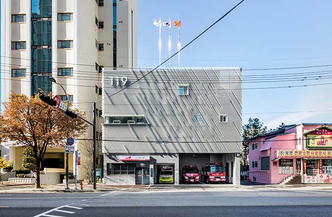 Myeonmok Fire Station in Seoul by Yong Ju Lee Architecture