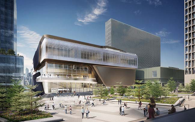 UNStudio designs a world class theatre complex in Hong Kong