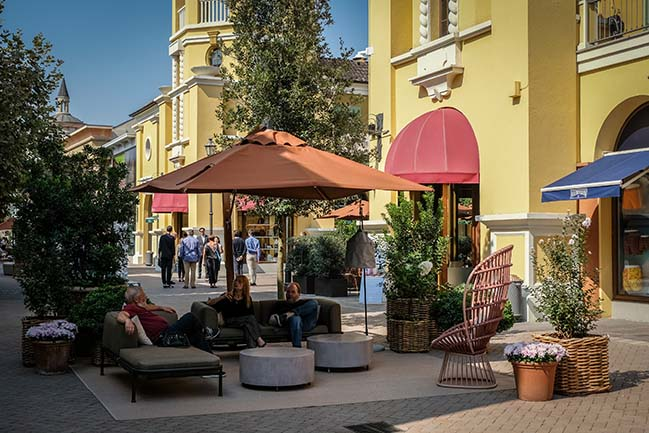 Vudafieri-Saverino Partners redesigns the new Mainstreet of Fidenza Village