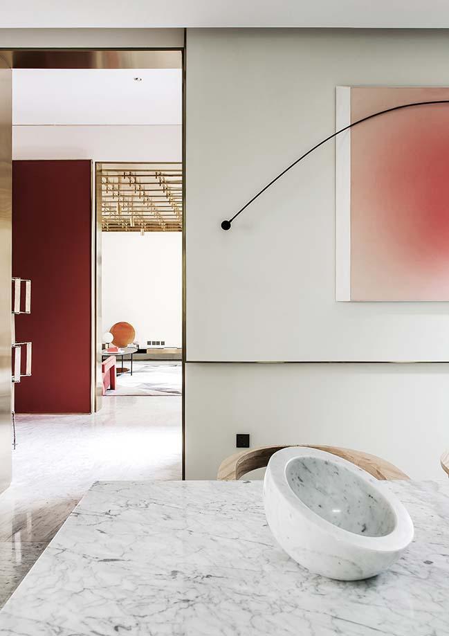 Tianjin Binhai Bay Fortune Center Villa Sample Room by Co-Direction Design