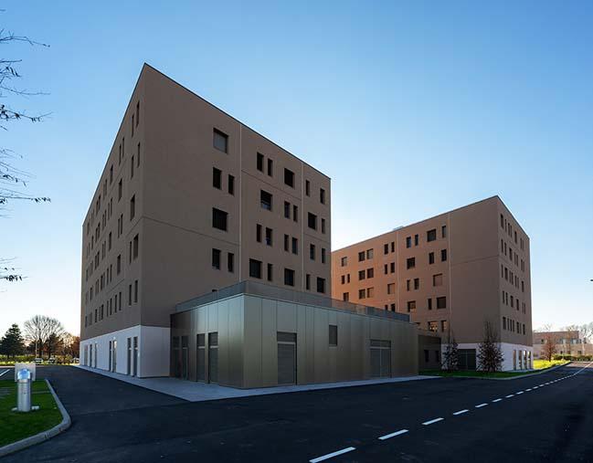 Humanitas University Student House by Filippo Taidelli Architetto