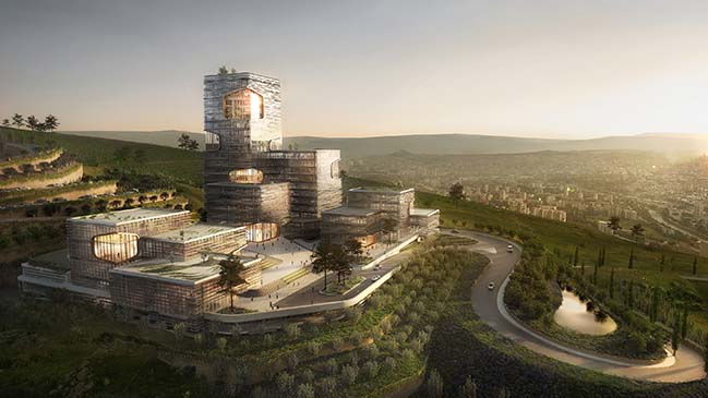 TBC Forum by UNStudio breaks ground in Tbilisi