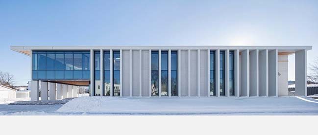 Rigaud City Hall by Affleck de la Riva Architects