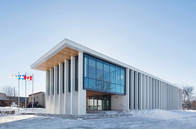 Rigaud City Hall by Affleck de la Riva Architects