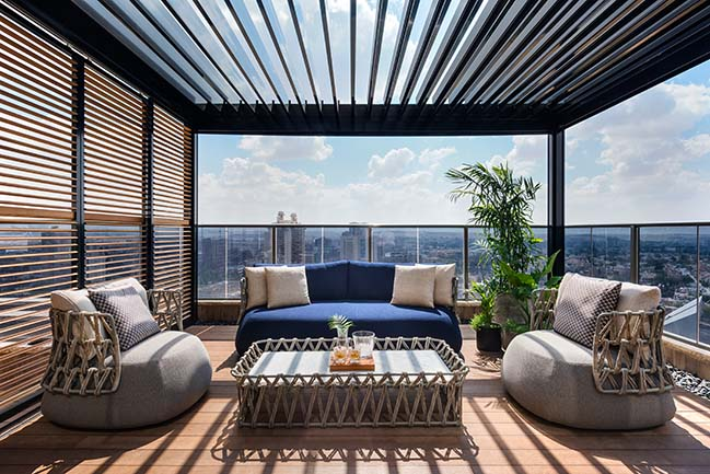 L.S House | The Southern Penthouse by Moran Gozali