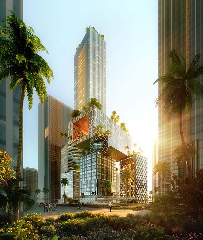 Vanke 3D City - The Next Generation of Skyscrapers by MVRDV
