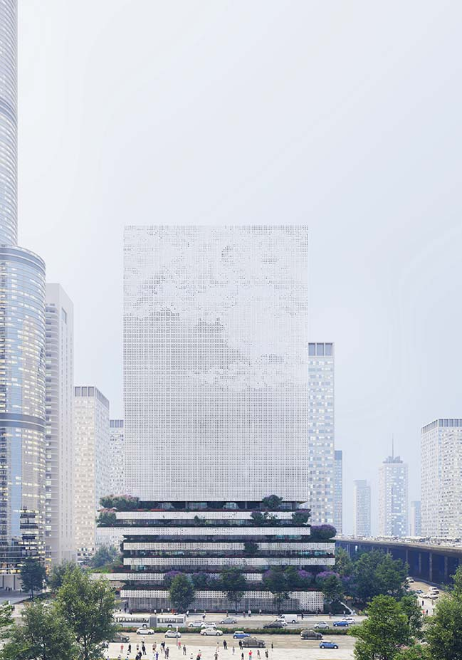 Qianhai Data Center in Shenzhen by Mecanoo