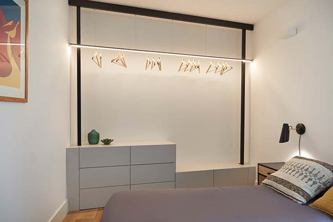 Gran de Gracia mini apartment by YLAB Arquitectos Barcelona