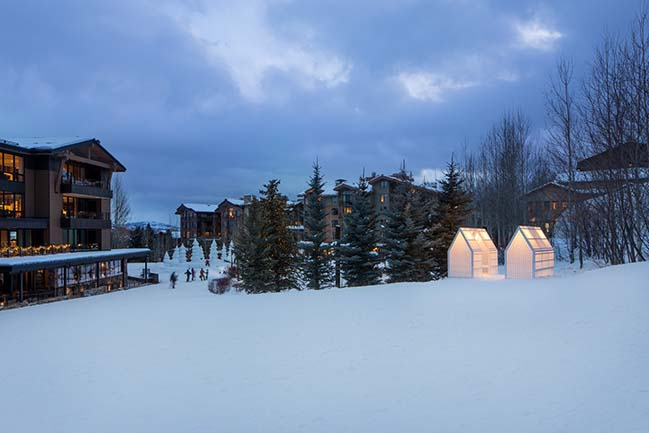 New public art project from CLB Architects in Jackson Hole