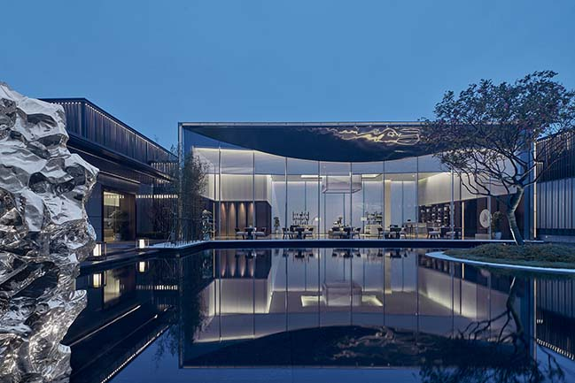 DOTHINK·JIUXI ELEGANT MANSION Life Experience Center by GFD