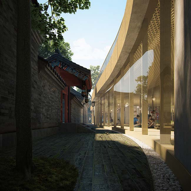 Courtyard Kindergarten in Beijing by MAD Architects