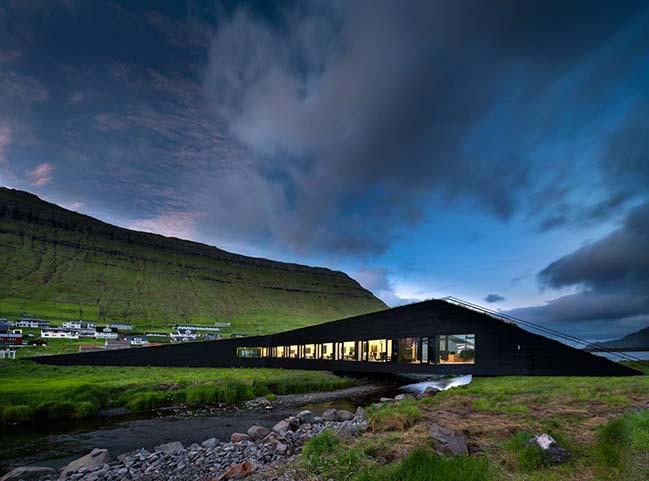 Eystur Town Hall by Henning Larsen
