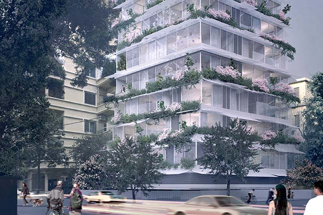 Midori - Tree Building in Beirut by Paul Kaloustian Architect