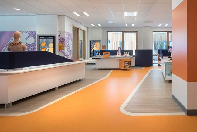 Center for Pediatric Oncology Prinses Máxima Centrum by MMEK
