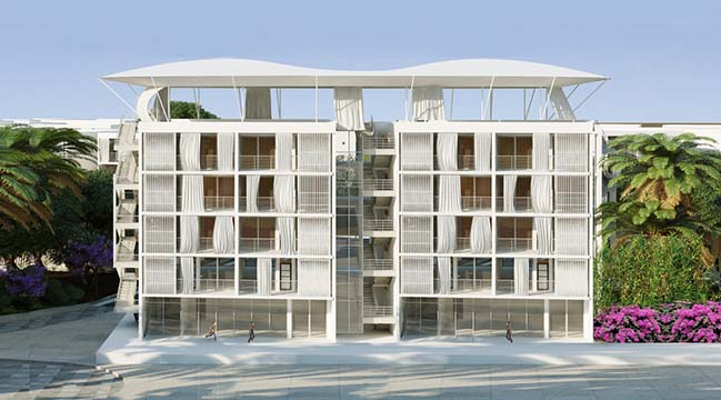 Social Housing Colline aux Oliviers by PB+Co