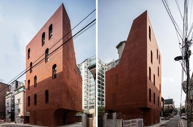 Five-Story House in Seoul by stpmj
