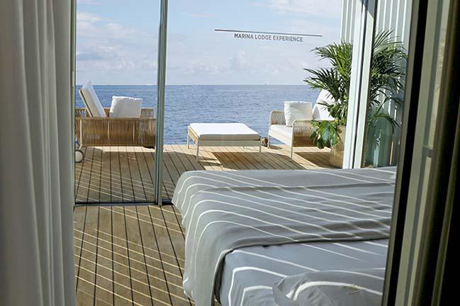 Punta de Mar - A floating accommodation by Mano de Santo
