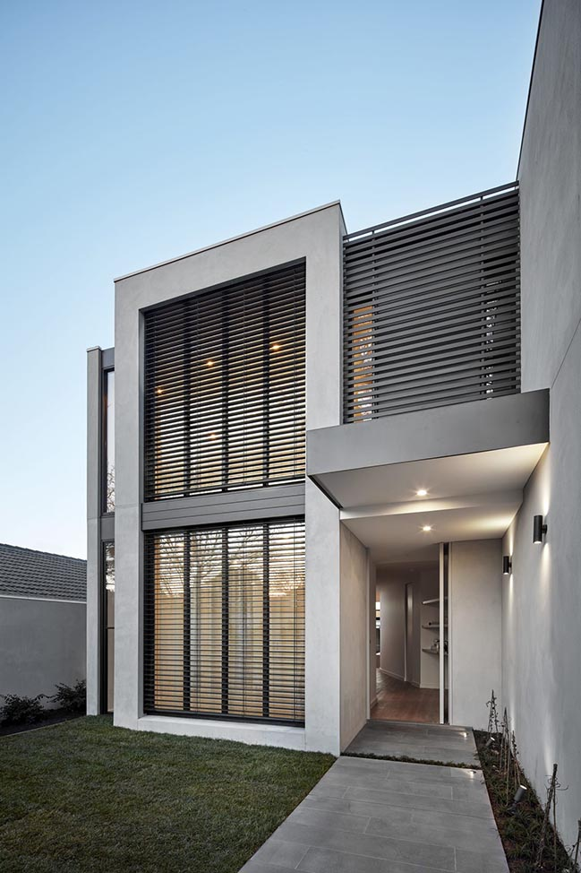 Cressy Townhouses by Megowan Architectural