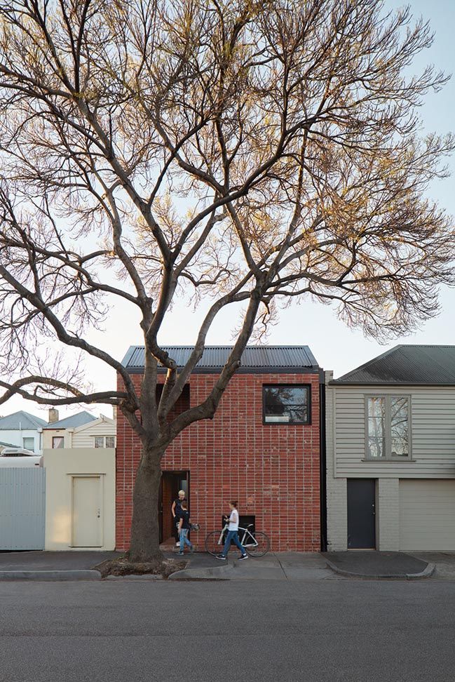 Brick and Gable House in Melbourne by Breathe Architecture