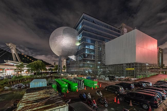 New photos of OMA's Taipei Performing Arts Center