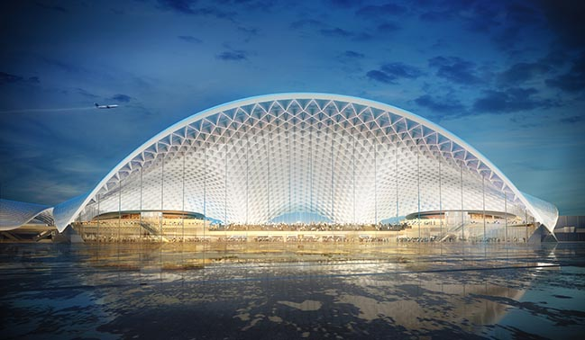 Designs for Chicago's O'Hare Global Terminal go to public vote