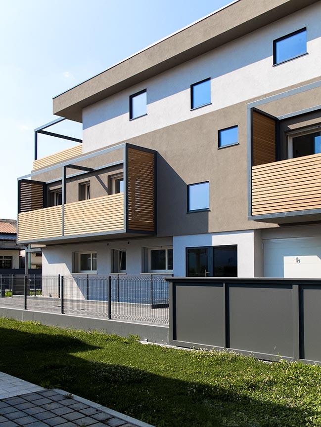 Residenze Mira by Nicola Feriotti Architetto and Alberto Tosatto
