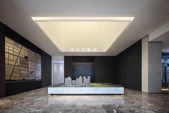 Xian VANKE · RUYUAN Sales Center by ONE-CU INTERIOR DESIGN LAB
