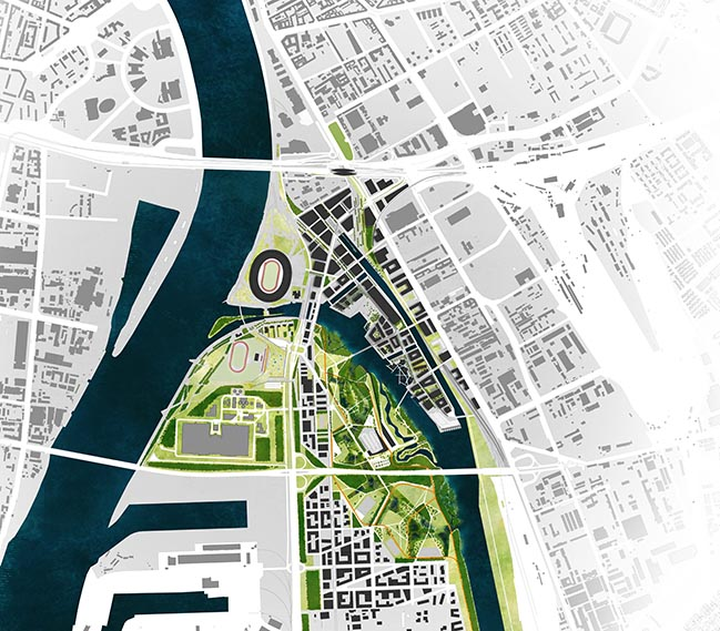Snøhetta wins Budapest South Gate Competition