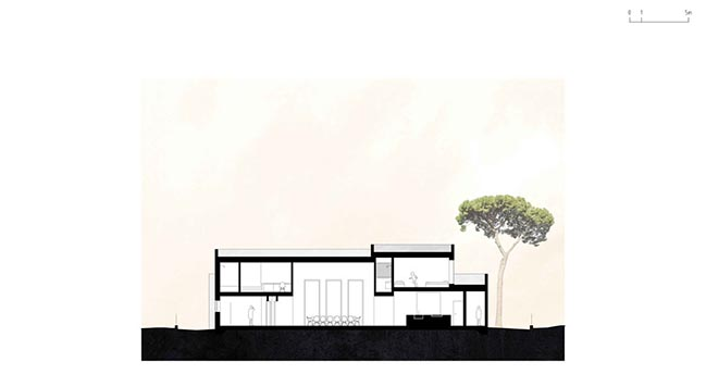 House in Troia by Miguel Marcelino