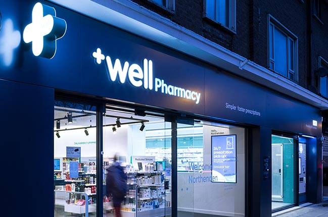 YourStudio create the Pharmacy of the Future and to hero the dispensary