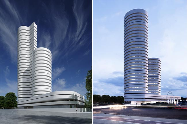 Kouros Tower by Fran Silvestre Arquitectos