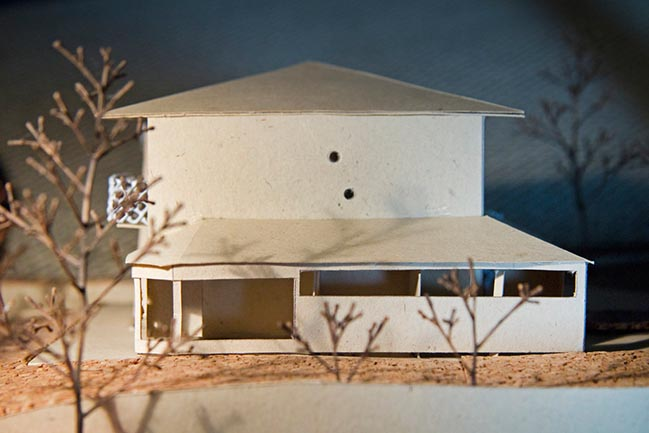 1970s Italian villa architectural restyling by Francesca Perani + Bloomscape Architecture