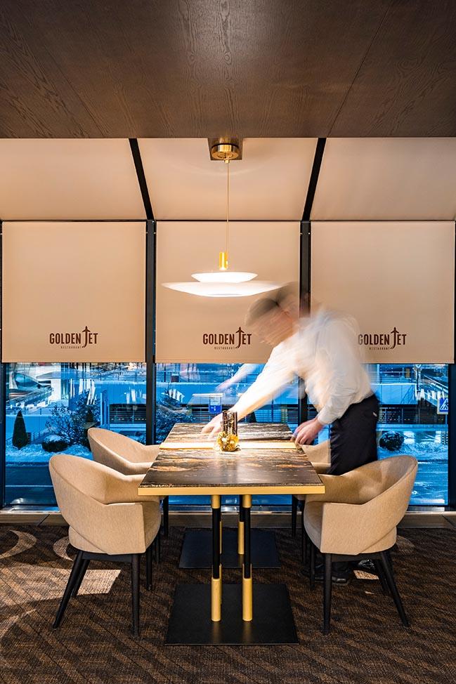 Golden Jet Restaurant by ARCHFORM