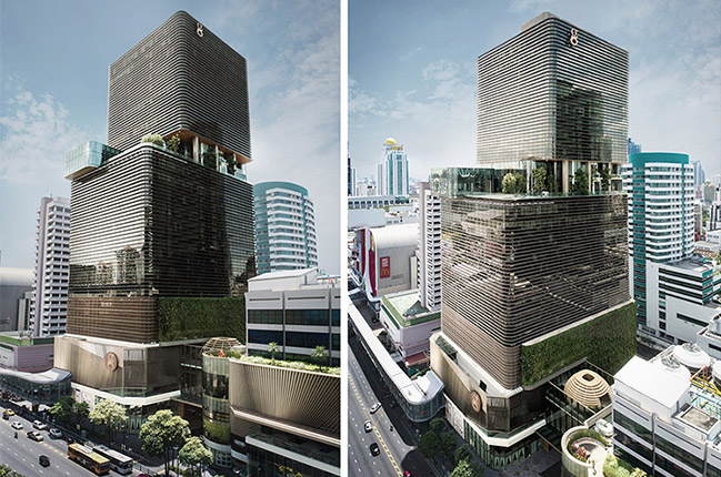 Gaysorn II Tower in Bangkok by CL3 Architects Limited