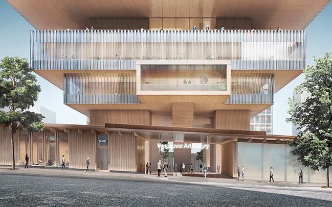 The Vancouver Art Gallery by Herzog & de Meuron