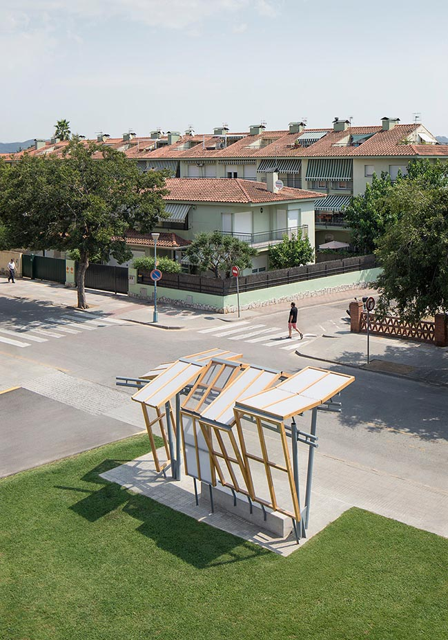 Palafolls Bus Stop by MIAS Architects