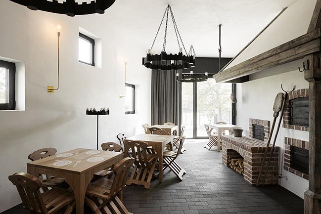 Pilgrims House in Vastseliina by KAOS Architects