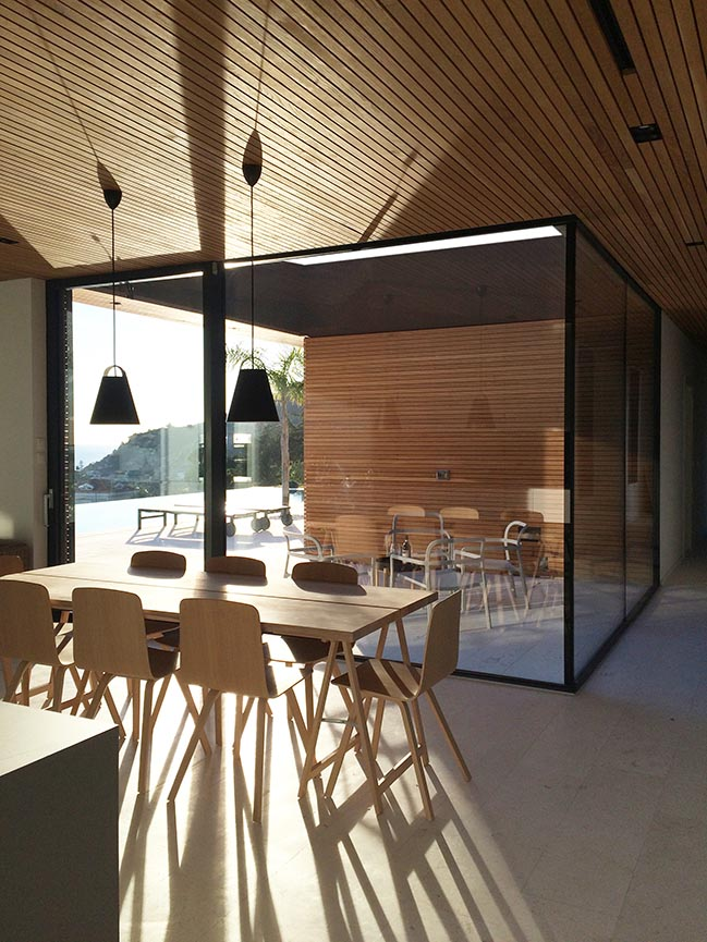 Villa M in Ospedaletti by Giordano Hadamik Architects