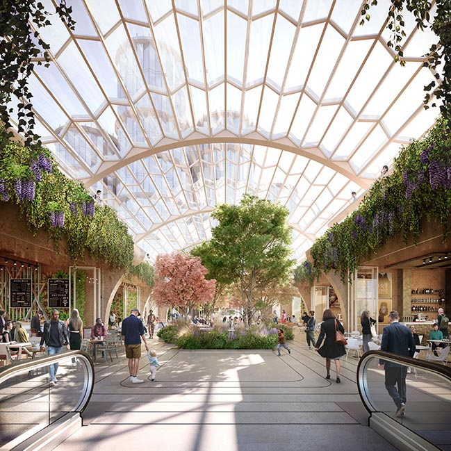 Olympia London Plans by Heatherwick Studio and SPPARC